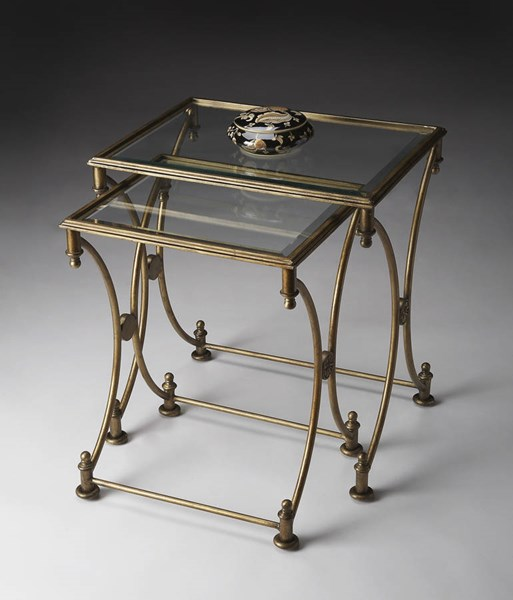 Butler Specialty Metalworks Gold Nesting Tables BSF-4012226