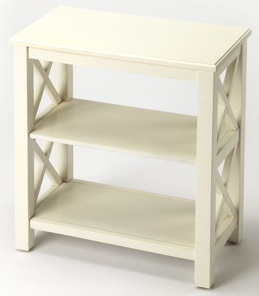 Butler Specialty Masterpiece White Bookcase BSF-4105222