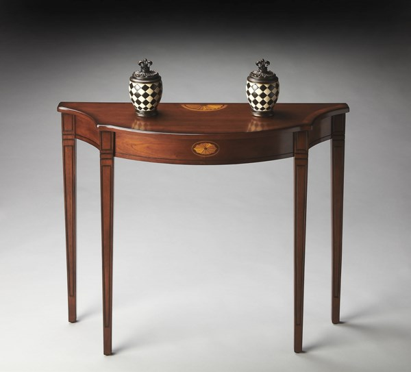Butler Specialty Masterpiece Black Console Tables bsf-4116-ST-VAR