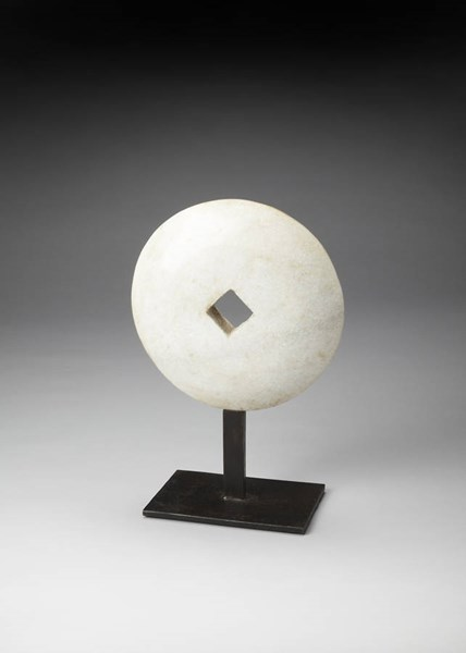 Hors D Oeuvres Anthem Modern White Marble Iron Scuplture bsf-4237016