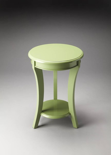 Butler Loft Holden Modern Green Solid Wood Accent Table bsf-4298292