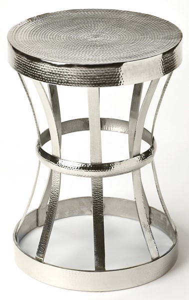 Butler Specialty Industrial Chic Aluminum End Table BSF-4326330