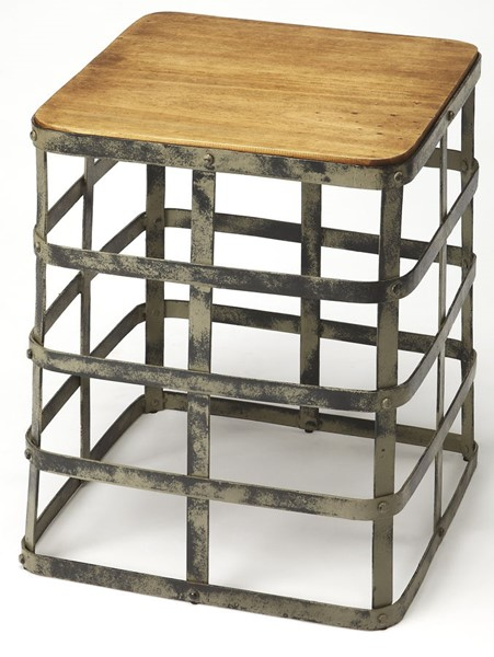 Butler Specialty Industrial Chic End Table BSF-4338330