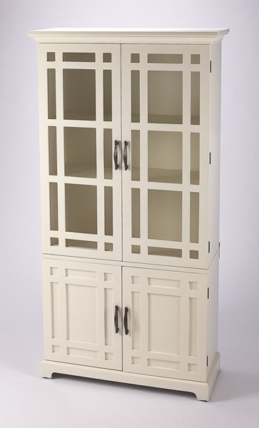 Butler Specialty Masterpiece Revival White Tall Cabinet BSF-4355288