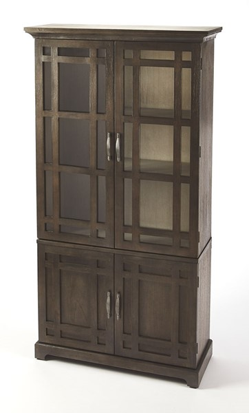 Butler Specialty Masterpiece Revival Dark Brown Tall Cabinet BSF-4355354