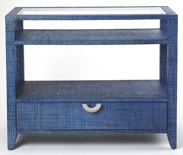 Butler Specialty Loft Amelle Blue Console Table BSF-4358361
