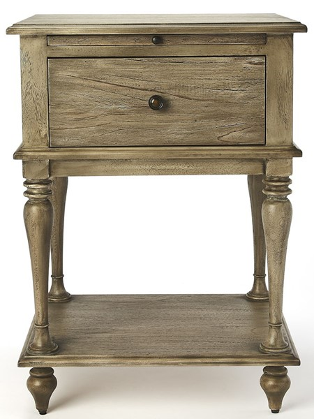 Butler Specialty Masterpiece Ashburn Gray End Table BSF-4373280