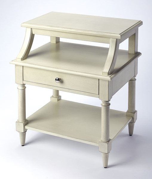 Butler Specialty Masterpiece Talia White End Table BSF-4374288
