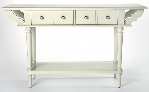 Butler Specialty Masterpiece Talia White Console Table BSF-4375288