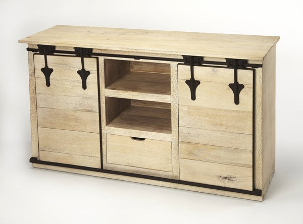 Butler Specialty Industrial Chic Aneto Entertainment Console BSF-4449330