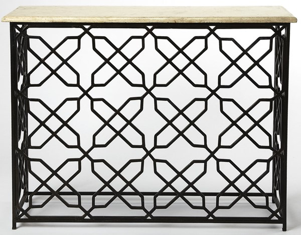 Butler Specialty Metalworks Armando Gold Console Table BSF-4482025