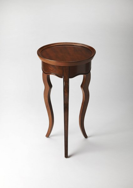 Masterpiece Sophia Rubberwood MDF Round Accent Tables BSF-5007-ET-VAR