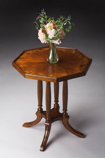 Masterpiece Adolphus Traditional Octagonal Accent Tables BSF-5015-AT-VAR