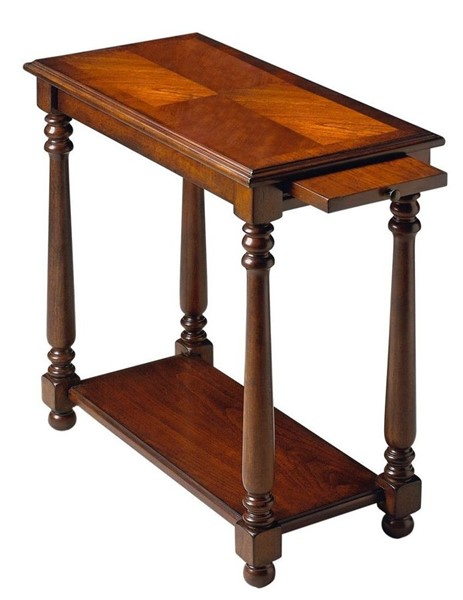 Butler Specialty Plantation Cherry Devane Chairside Table BSF-5017024