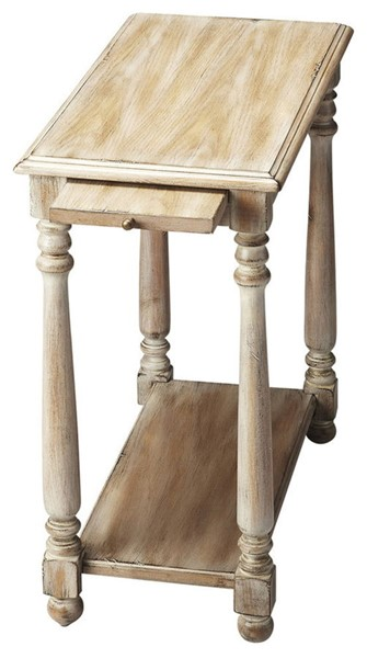 Butler Specialty Masterpiece Devane Gray Chairside Table BSF-5017247
