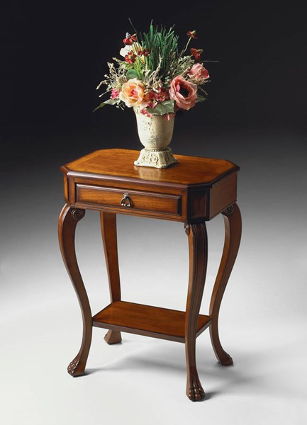 Masterpiece Channing Traditional Medium Brown Console Table BSF-5021101
