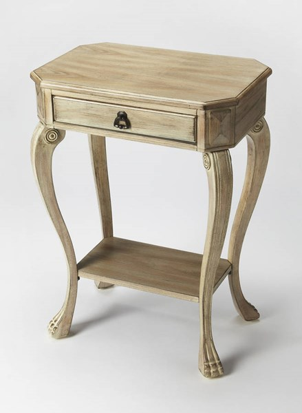 Masterpiece Channing Gray Driftwood Rubberwood MDF Console Table BSF-5021247