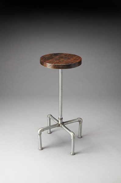Industrial Chic Piper Modern Natural Wood Metal Bar Stool BSF-5093330