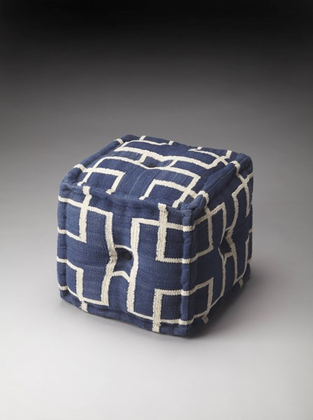 Accent Seating Berkeley Transitional Fabric Pouffes BSF-5103-OT-VAR