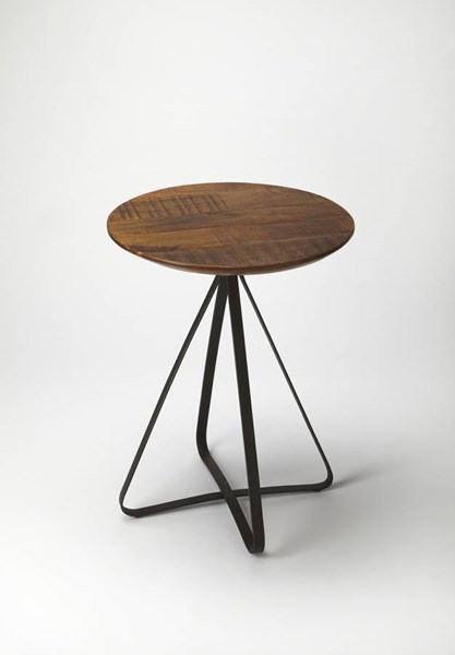 Industrial Chic Modern Solid Wood Iron Side Table BSF-5161330