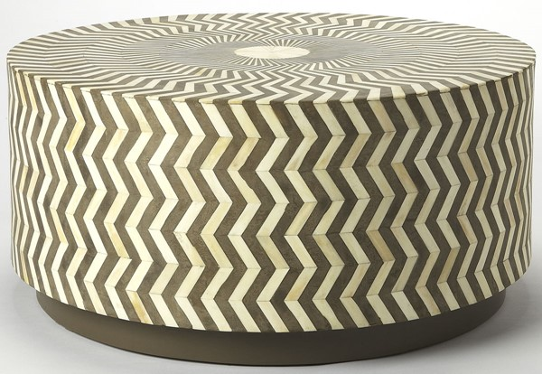 Butler Specialty Bone Inlay Lucy Gray Coffee Table BSF-5247321