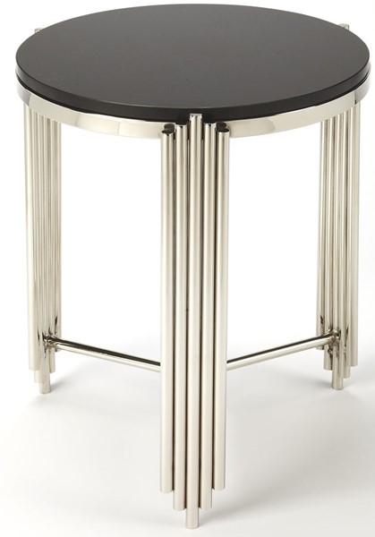 Butler Specialty Metalworks Khalifa Black End Table BSF-5310025