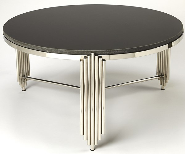 Butler Specialty Metalworks Khalifa Black Coffee Table BSF-5311025