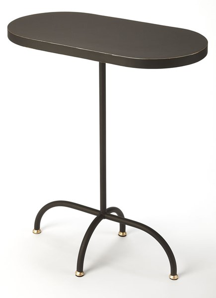 Butler Specialty Metalworks Cleo Black End Table BSF-5313387