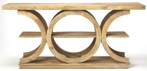 Butler Specialty Loft Stowe Natural Console Table BSF-5327312
