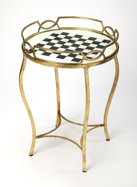 Butler Specialty Loft Judith Gold Game Table BSF-5341025