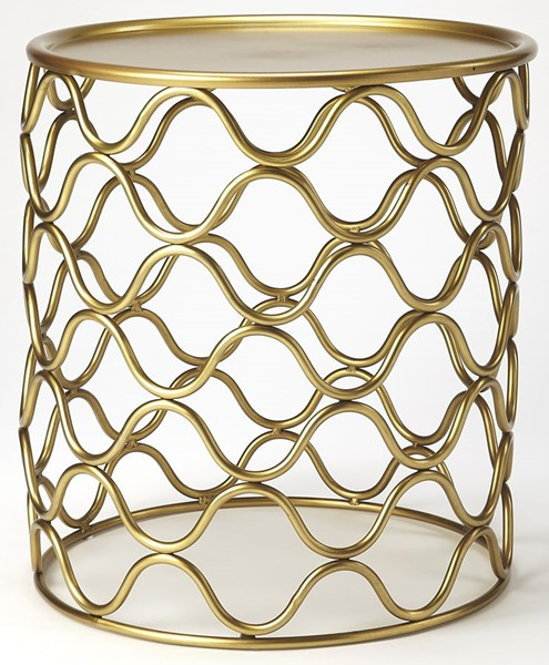 Butler Specialty Loft Glendale Antique Gold Accent Table BSF-5346226