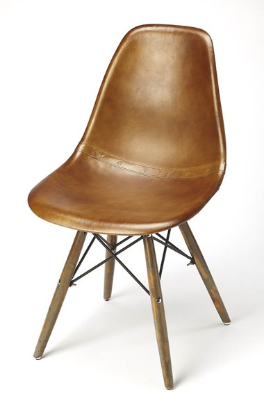 Butler Specialty Industrial Chic Orson Brown Side Chair BSF-5379344