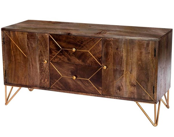 Butler Specialty Designers Edge Alda Brown Entertainment Console BSF-5478140