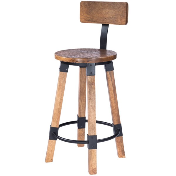 Butler Specialty Mountain Lodge Masterson Natural Wood Counter Stool BSF-5479330