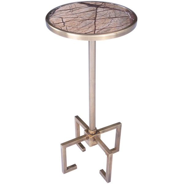 Butler Specialty Metalworks Mash Gold End Table BSF-5489226