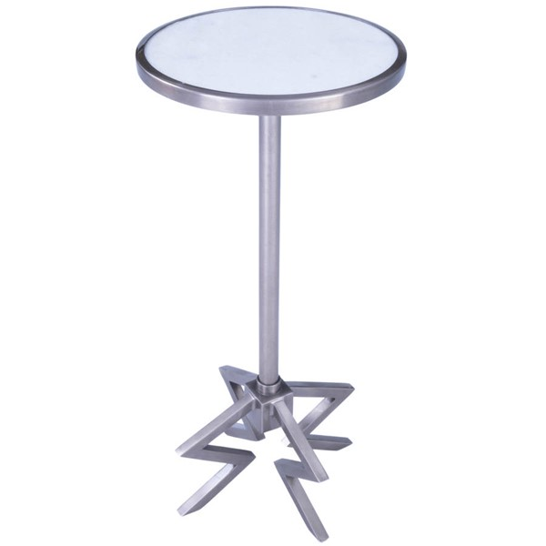 Butler Specialty Metalworks Dash Silver End Table BSF-5490220