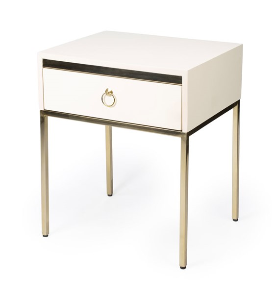 Butler Specialty Loft Monika White End Table BSF-5504222
