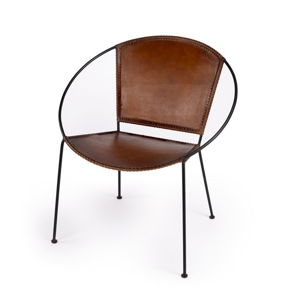 Butler Specialty Accent Seating Milo Brown Accent Chair BSF-5511344