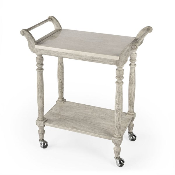 Butler Specialty Danielle Rustic Gray Serving Cart BSF-5518329