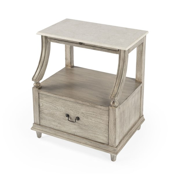 Butler Specialty Danielle Rustic Gray Nightstand BSF-5519329