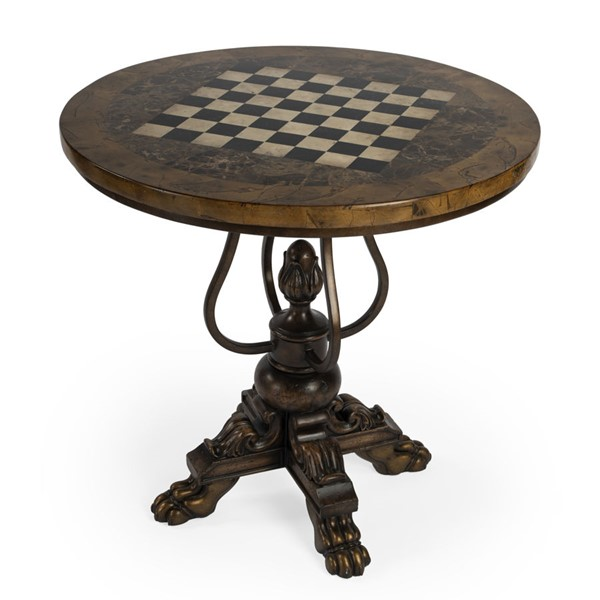 Butler Specialty Heritage Carlyle Round Game Table BSF-5564070