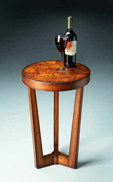 Masterpiece Aphra Transitional Medium Brown Accent Table BSF-6021101