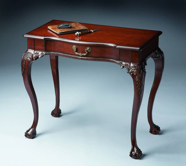 Plantation Cherry Dupree Traditional Dark Brown Writing Desk BSF-6042024