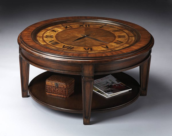 Butler Specialty Heritage Clock Cocktail Table BSF-6047070