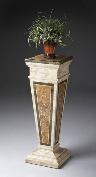 Heritage Augustus Traditional Assorted Fossil Stone Pedestal BSF-6062070