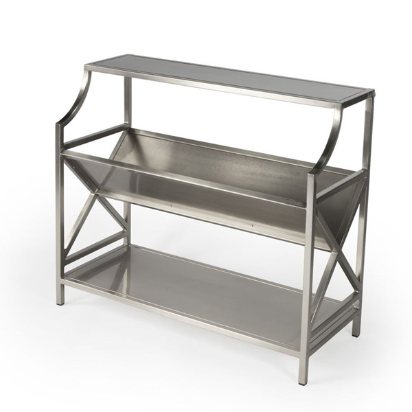 Butler Specialty Keats Nickel Plated Library Bookcase BSF-6112220