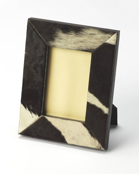 Hors D Oeuvres San Angelo Modern Leather Cowhide MDF Picture Frame bsf-6153016
