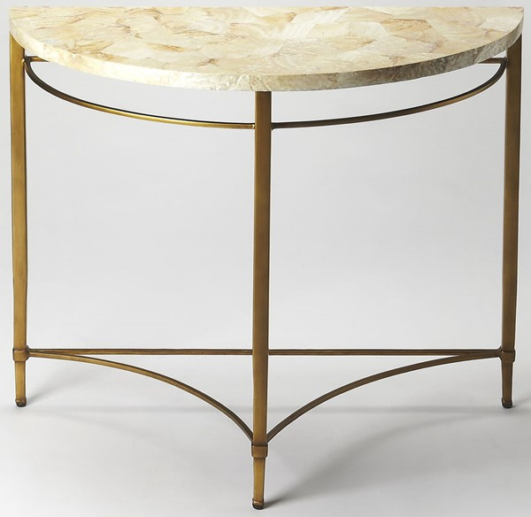 Butler Specialty Metalworks Marlena Demilune Console Table BSF-6185025