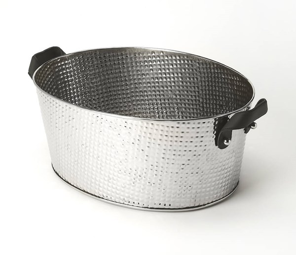 Hors D Oeuvres Avant Transitional Silver Stainless Steel Wine Bucket BSF-6190016