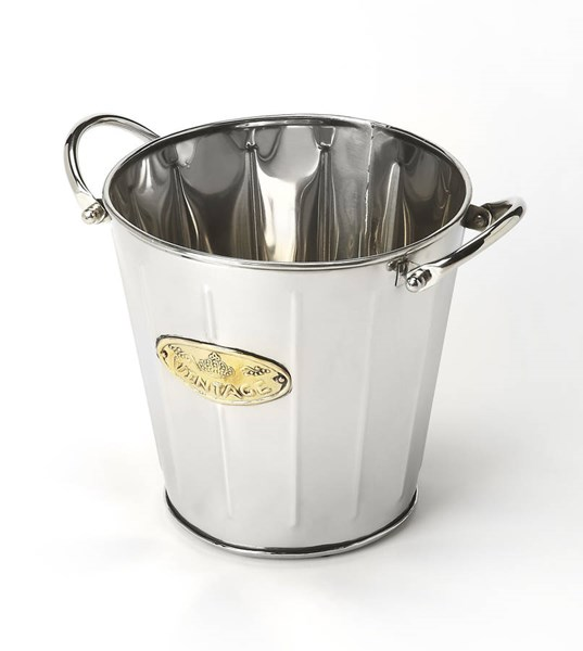 Hors D Oeuvres Santa Rosa Transitional Steel Wine Round Bucket BSF-6198016